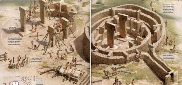 تصوّر لكيفية بناء المعابد