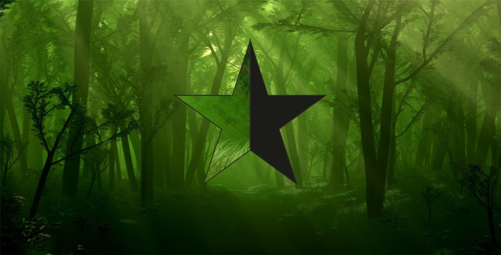 شعار اللاسلطوية الخضراء