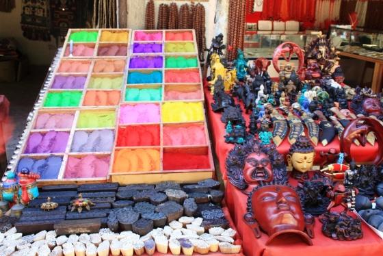 من سوق شعبي في النيبال - الصورة بعدستي، أوكتوبر 2011