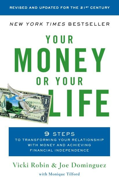 غلاف كتاب مالك أو حياتك الذي ح كل مهتم(ة) بالاستقلالية المالية بقراءته.
