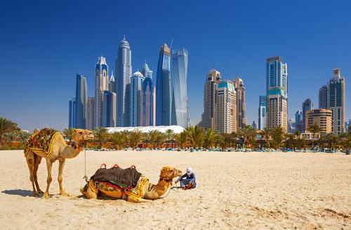 من مدينة دبي